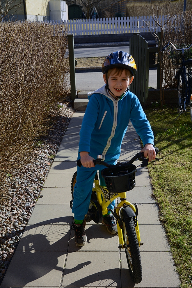 Ville-på-cykeln