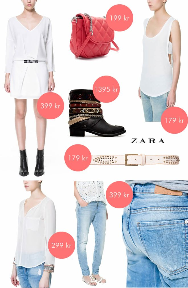 Zara favoriter april 2013