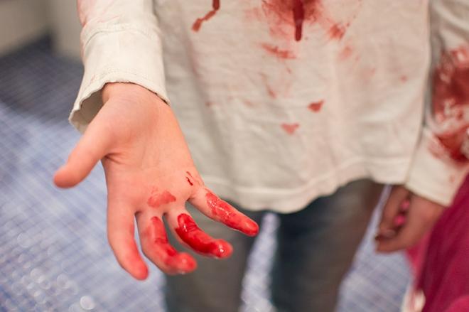 Halloween makeup - Blod