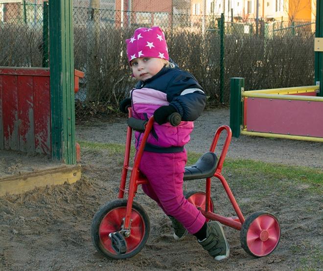 Lola-trehjuling-dagis