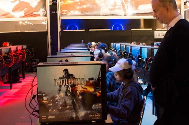 Max-spelar-Battlefield