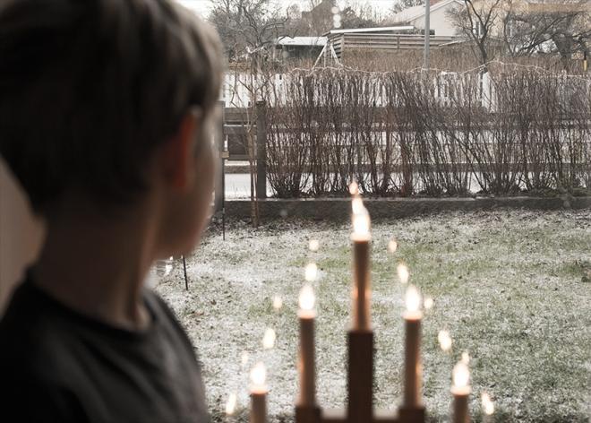 Ville-tittar-ut-på-första-snön-2013