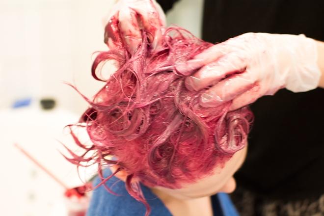 Max nya hårfärg - Revlon Nutricolor creame 005 och 002