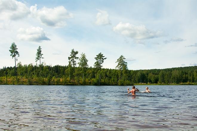 Bad Ångersjön