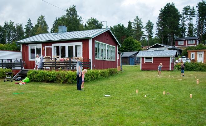 Kubbspel stugan Norrfällsviken